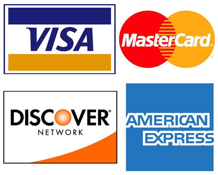 Zahlungsart Kreditkarten